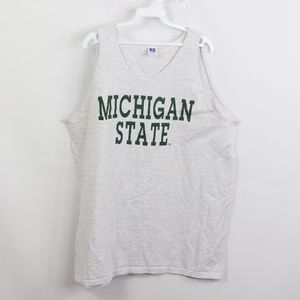 Vintage Russell Athletic Michigan State Tank Top